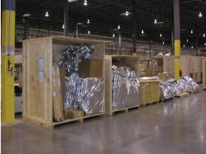 military standard packing crates