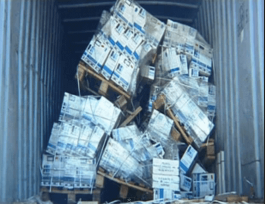 damaged pallets