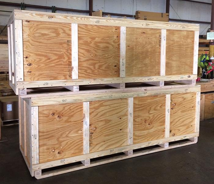 custom crates for export shipping