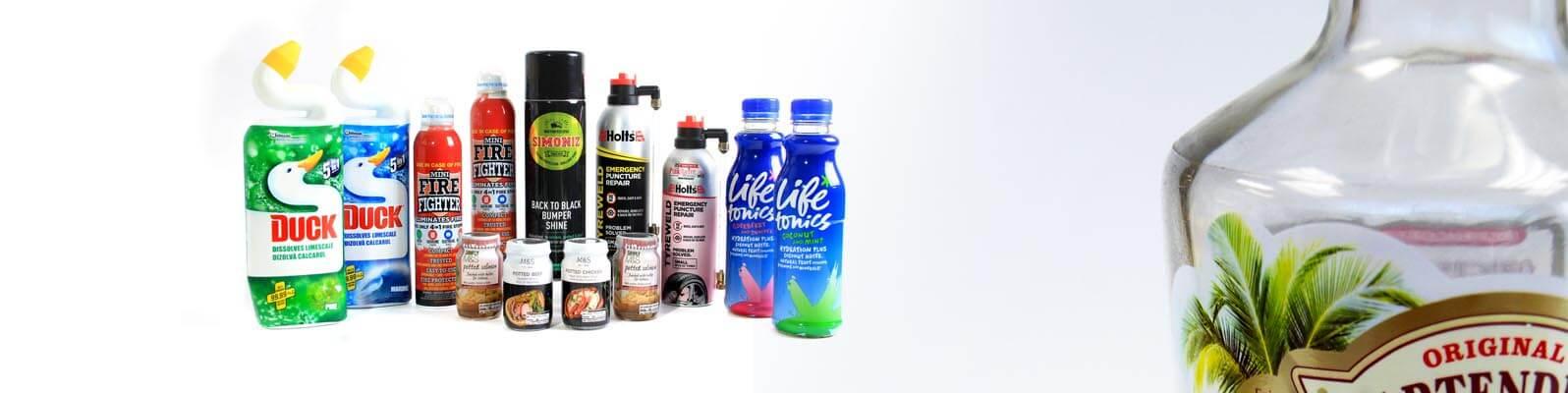 Shrink Sleeving bottles and Jars